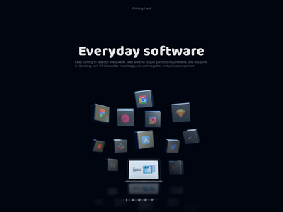 C4D small Design website branding animation web inteaction ui ux icon vector design