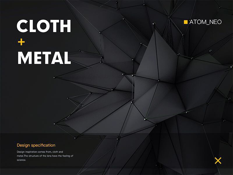 C4D cloth metal by Atom_neo | Dribbble | Dribbble