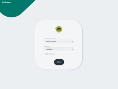 Login for IoT app