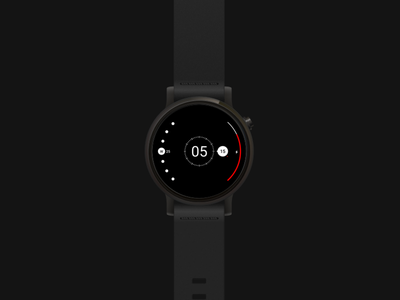 Radii : Watchface watchface ux solar system planets ui ux android wear moto 360 radii smartwatch time