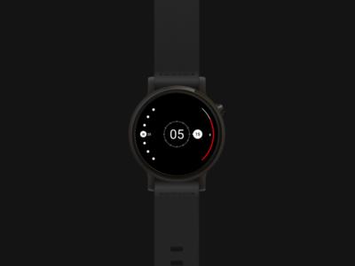 Radii : Watchface