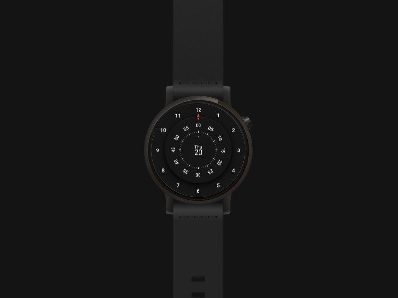 Roto 360 : Watchface watchface time smartwatch roto 360 moto 360 android wear ux ui planets solar system