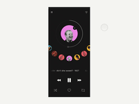 Music App : Interaction