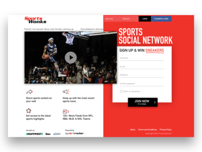 SportsWonks Website