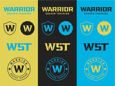 Warrior Soccer Training Responsive Branding Kit futbol logo fitness logo soccer soccer logo warrior logo design soccer branding