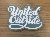 United Outside Sticker