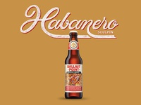 Ballast Point Mango Habanero Sculpin - Brew Letters