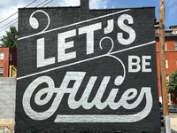Lets Be Allies Goodtype Tuesday