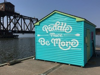 B'More SUP Shed Mural