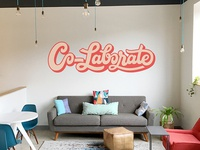 Co Lab Workspace Mural