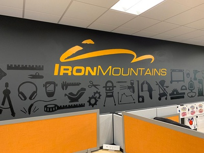 Iron Mountains mural