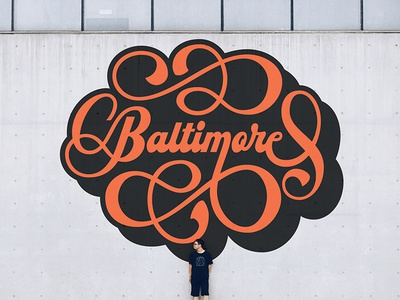 Baltimore Mural Mock Up