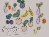Continuous Line | Fruity