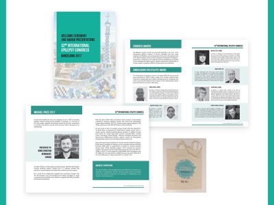 Promotional material for a non-profit events company design promotional material booklet design identity graphic design