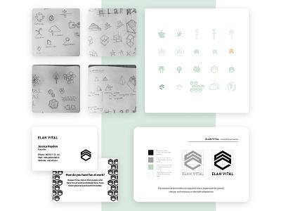 Brand design project for a boutique consultancy branding growth freelance designer design brand logo identity graphic design