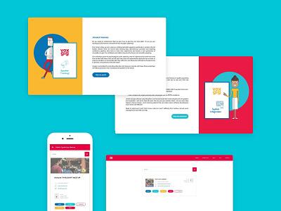 User interface design for events platform design user interface design ui