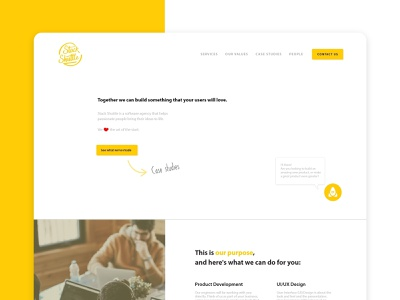 User interface design and branding project for a software agency software agency start up web design ui freelance designer user interface design design logo brand identity