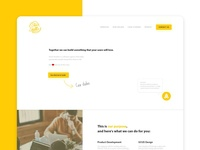 User interface design and branding project for a software agency