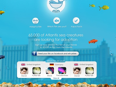 Atlantis Facebook app.