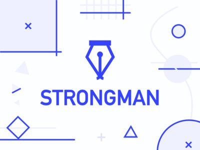 Strongman graphics logo