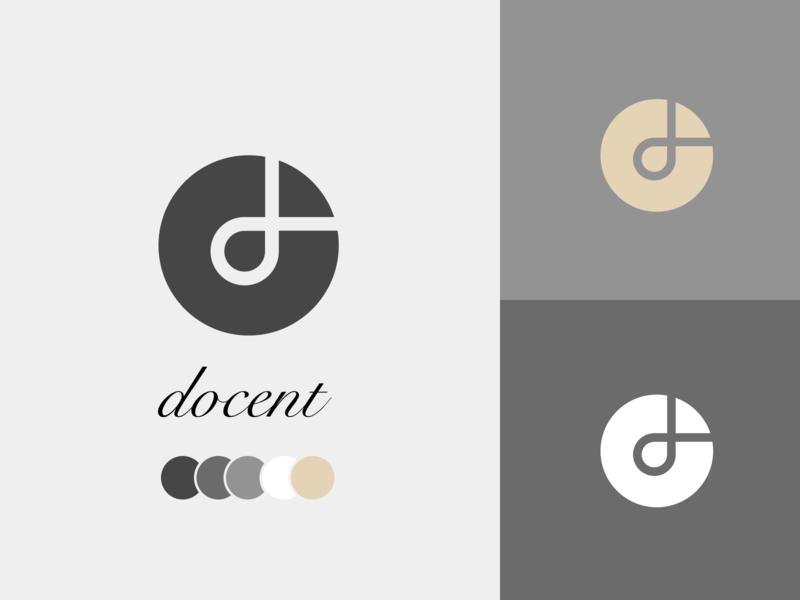 Docent tours museums museum of art museum mobile app brand identity brand design branding brand logo