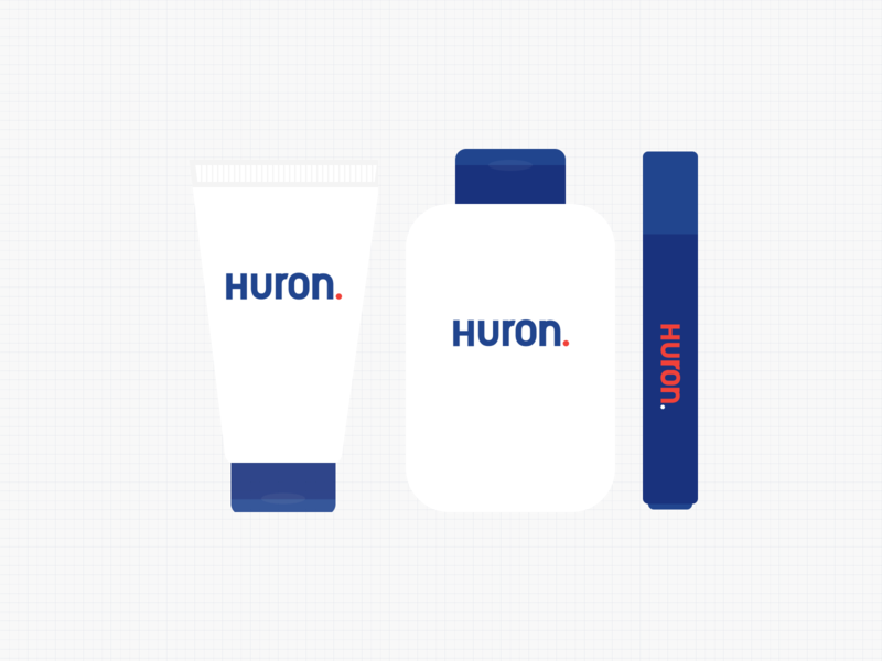 Huron Product Icons icons toiletries dtc usehuron cosmetics eye stick body wash face wash face lotion product icons direct to consumer skin care skincare mens skincare