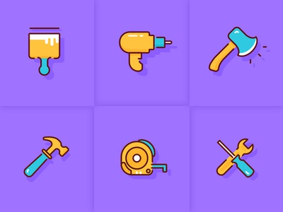 Some tool icons