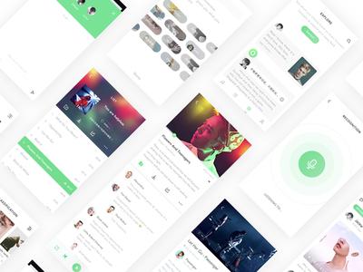 Echo UI design app ae sketch icon ps ui