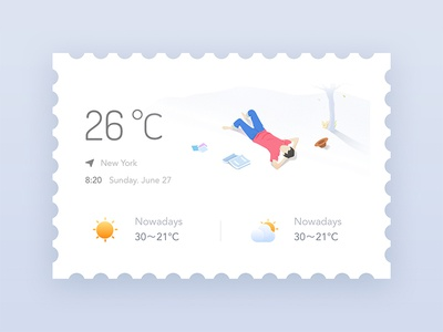 Holiday weather