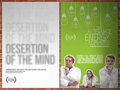 2016 Quiet Corner Film Festival Posters
