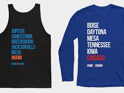 """""""Homegrown Series"""" Shirts t-shirts baseball"""