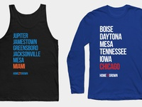 """Homegrown Series"" Shirts"