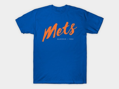 That LaCroix/Baseball Wordmark Shirt Nobody Asked For script artisanal shirt baseball mets