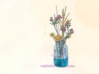 Wildflowers Illo