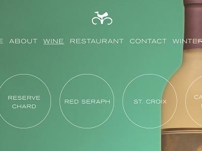 i don't make websites no more wine
