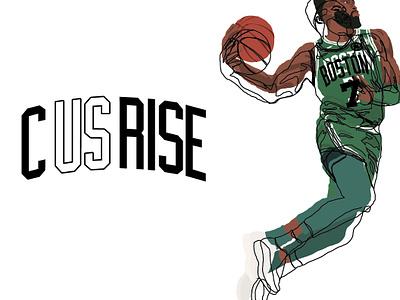 New C Us Rise Logos celtics basketball