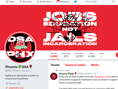 Refreshing the Chapter's Social Media Graphics politics socialists dsa