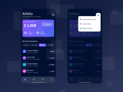 Finance Tracking App