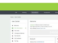 User Center