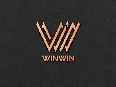 WIN Monogram logotype simple sharp bold identity modern logo logodesigner branding and identity branding logomaker logodesign win w letter w monogram