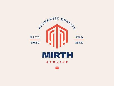 M Monogram Logo Mark clean bold icon identity branding modern simple logo mark monogram