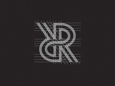 R Monogram Logo clean identity branding simple logo mark letter r r timeless sharp strong logotype monogram letter mark lettermark monogram