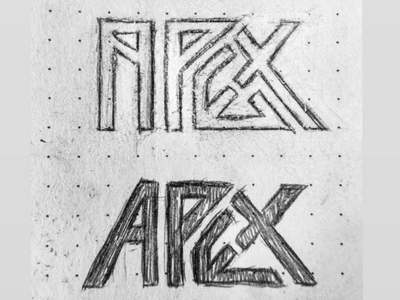 APEX symbol icon identity branding concept apex monogram logo illustration designinspirations logoinspirations logo inspiration typography art monogram logodesigner logos logo vector logodesign
