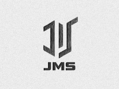 JMS bold clean icon identity modern branding simple logo mark monogram logo monogram jms