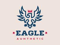 Aunthetic Heraldic Eagle