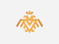 Eagle Mark Double Head Logo