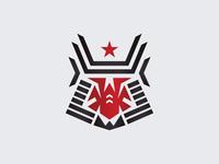 Samurai Warrior Logo Mark