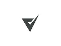 V Logo Mark Monogram