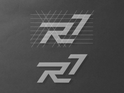 R17 Logo Monogram Grid Structure