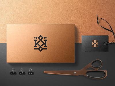 Branding Identity Kingdom clean logo simple mark monogram sophisticated elegant luxury modern professional kingdom king crown brand identity branding and identity branding